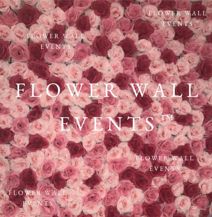 Strawberries And Cream Www Flowerwallevents Com Au Flower Wall