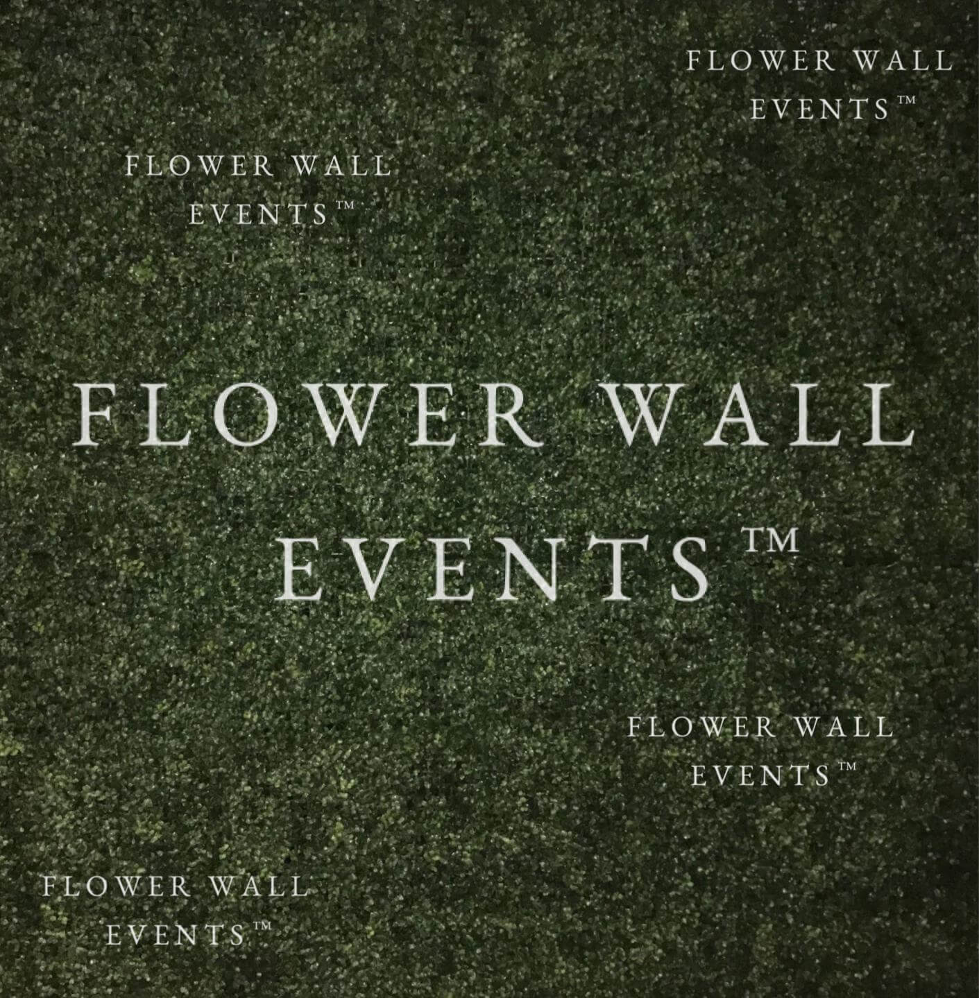 flower wall hire melbourne green hedge